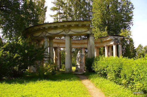 Павловский парк, Ленинградская область