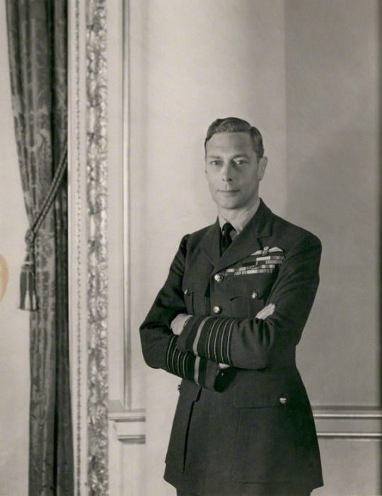 King George VI.