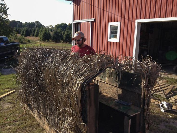 Build Your Own Duck Blind A Diy Approach Waterfowl