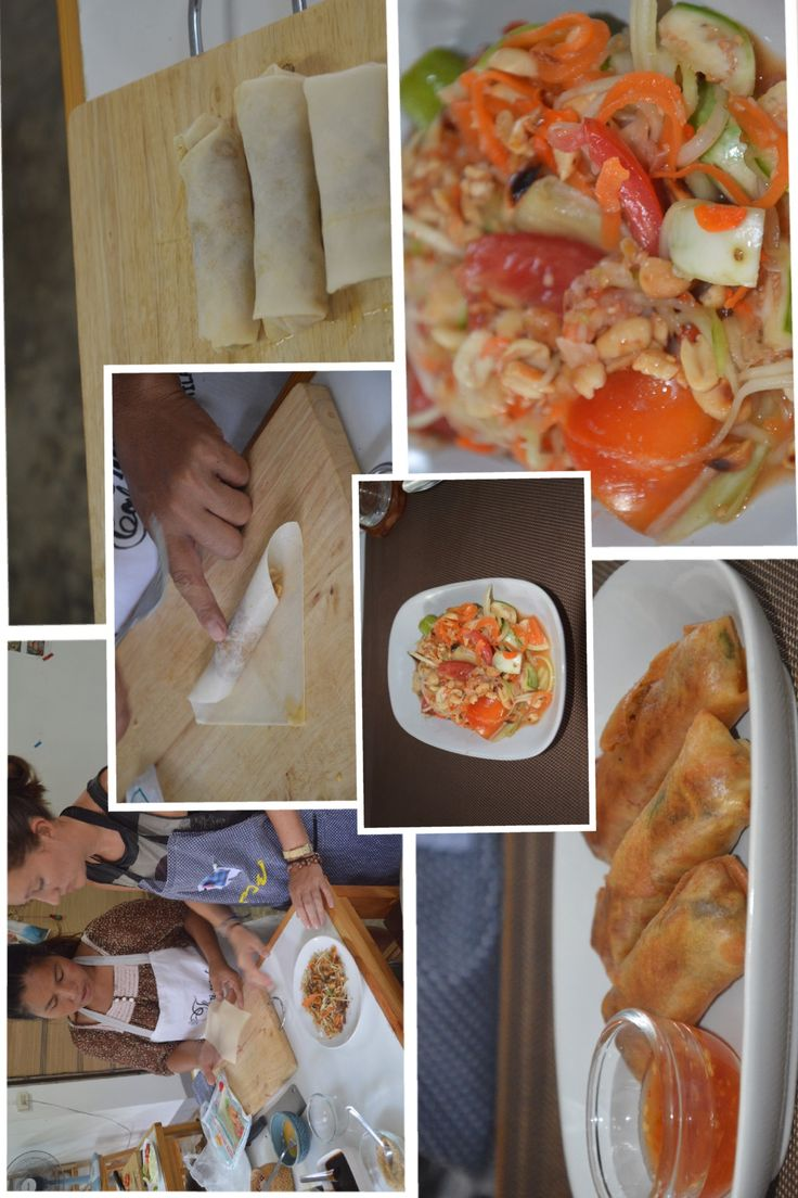 Thai cookery class (2nd part) in Chiang Mai