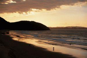 playa de Samil, Vigo, Galicia