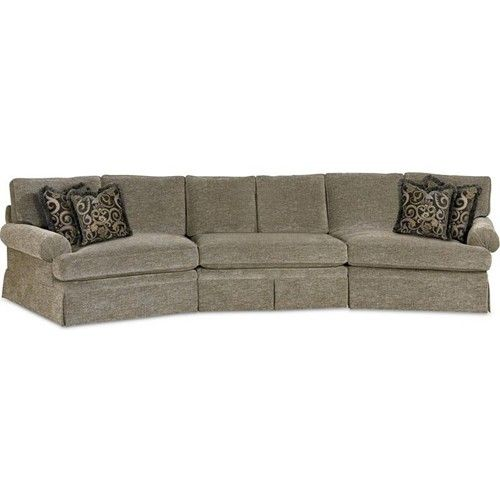 Drexel Heritage® Options Upholstery Program Customizable Natalie 3-Piece Sectional - Baer's Furniture - Sofa Sectional Boca Raton, Naples, Sarasota, Ft. Myers, Miami, Ft. Lauderdale, Palm Beach, Melbourne, Orlando, Florida