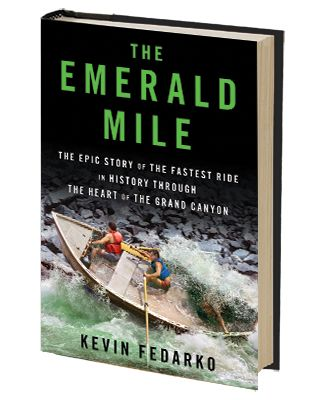 The Emerald Mile, best adventure book ever? Read our review and decide for yourself.