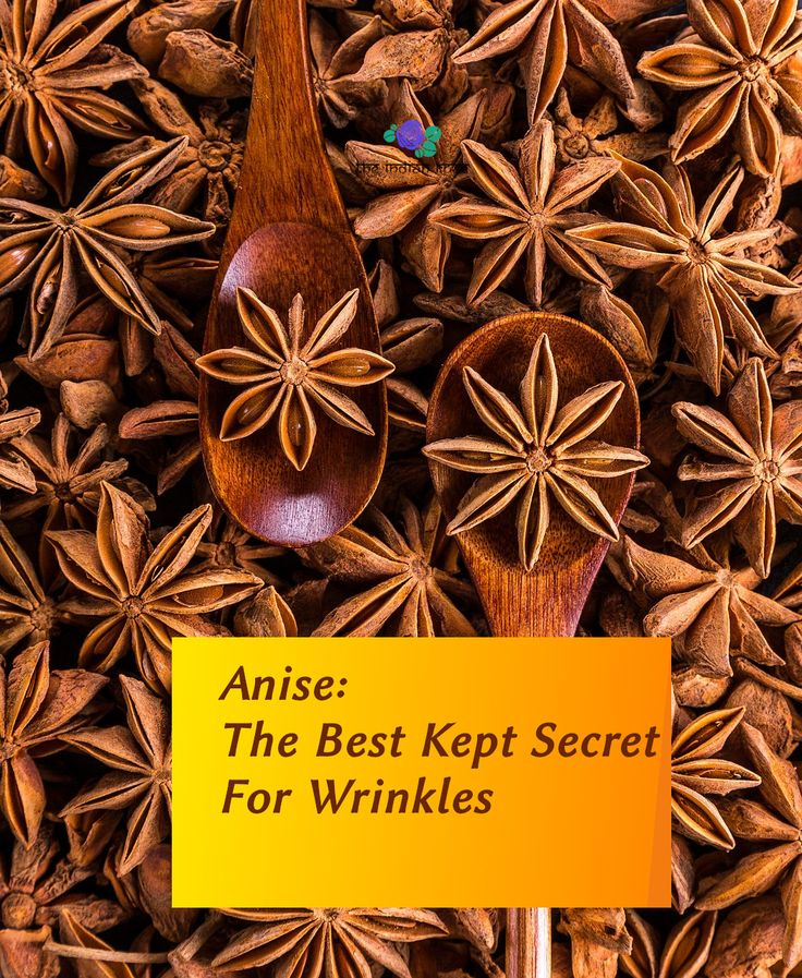 anti wrinkle remedy, natural remedy, anise for wri…