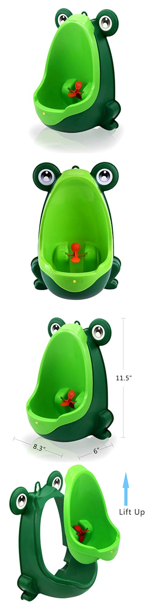 Potty Training 37631: Kids Potty Training Urinal Toddler Standing Pee Trainer With Aiming Target Green -> BUY IT NOW ONLY: $34.32 on eBay!