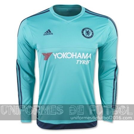 Jersey local para uniforme del ML portero Chelsea 2015-16