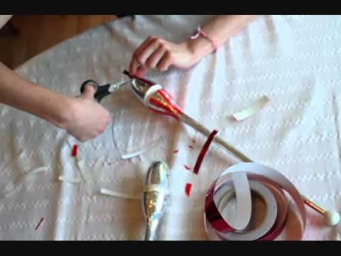 How to: Tape Rhythmic Gymnastics Clubs [Part 2: Decoration]
