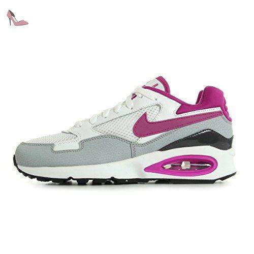nike wmns air max st chaussures de sport femme blanc casse blanco