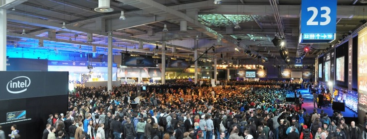10 000 Square Meters of E-Sports!