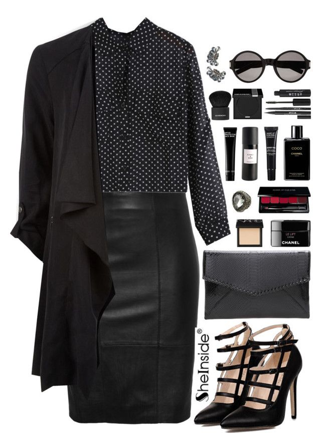 """""""SheIn 10"""" by scarlett-morwenna ❤ liked on Polyvore featuring NARS Cosmetics, Chanel, MAKE UP FOR EVER, Eight & Bob, Bobbi Brown Cosmetics, Givenchy, Stila, Yves Saint Laurent and vintage"""