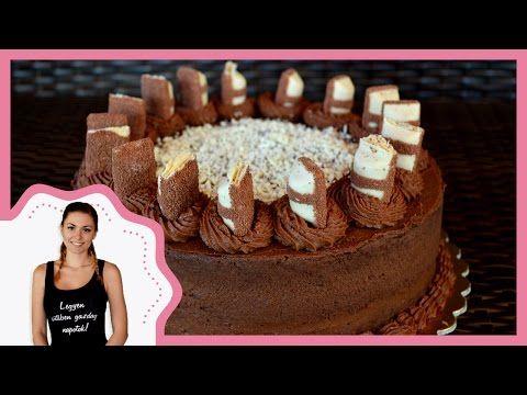 Csokoládétorta kinder buenoval - Egy szakács naplója