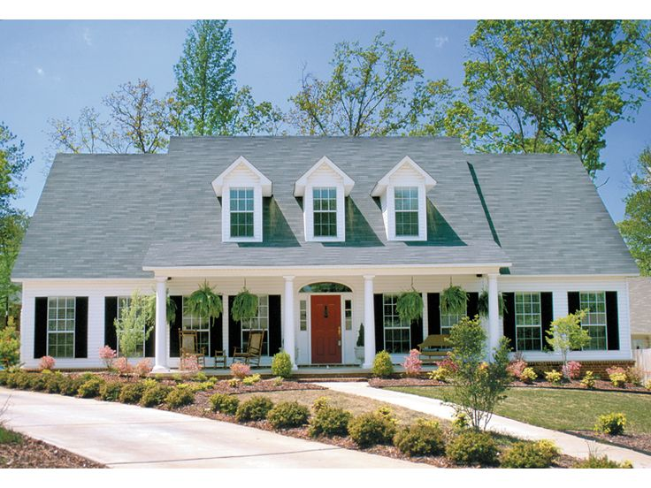 Gunnison mill plantation home home southern style and for Southern living cape cod house plans