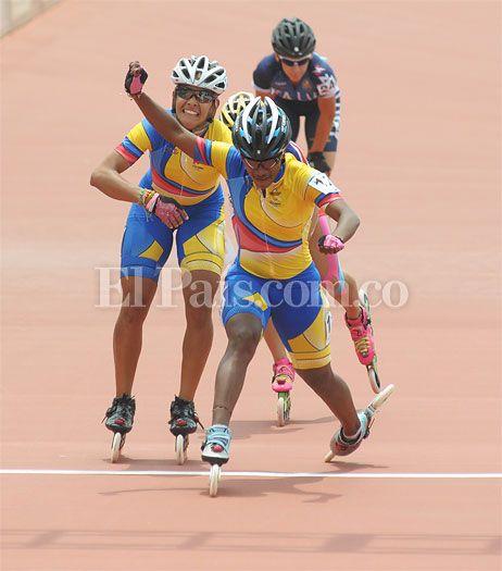 Yersy Puello y Paola Segura volaron por medallas de los Juegos Mundiales en #CaliMundial. Video: http://www.elpais.com.co/elpais/colombia-juegos/videos/protagonistas-world-games-yersy-puello-y-paola-segura-volaron-por-medallas-pa