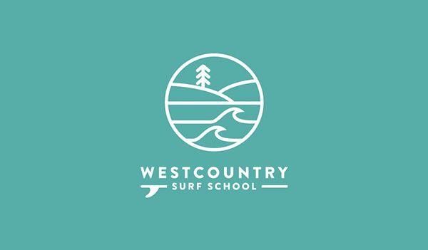 Westcountry Surf School on Behance