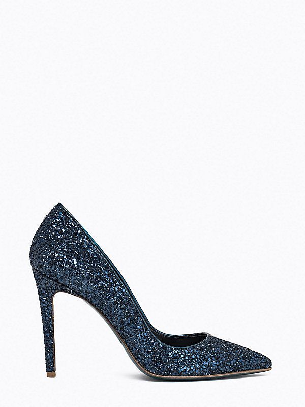 Туфли-лодочки с блестками по всей поверхности C171 1