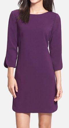 eggplant knit shift dress  http://rstyle.me/n/q48s2pdpe