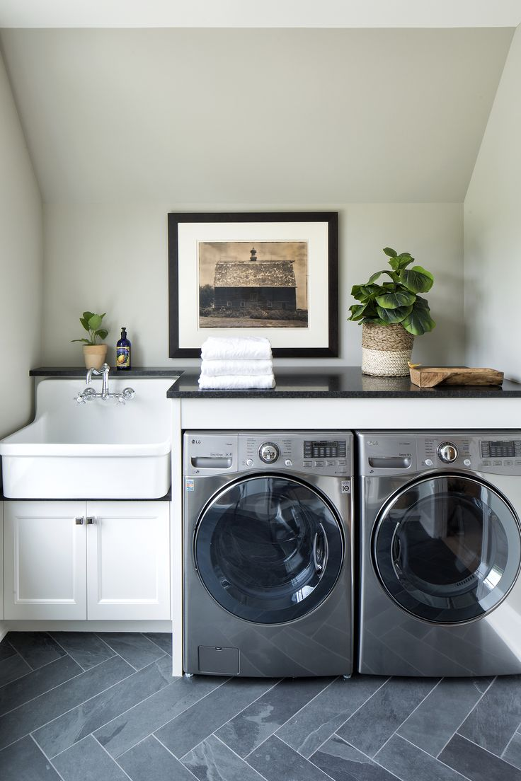Minnetonka New Construction - by Vivid Interior and Hendel Homes #laundryroom
