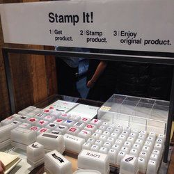 MUJI - Stamp it! - Melbourne Victoria, Australia