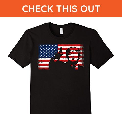 Mens Donald Trump Flag Shirt 4th of July Shirt Large Black - Cities countries flags shirts (*Amazon Partner-Link)