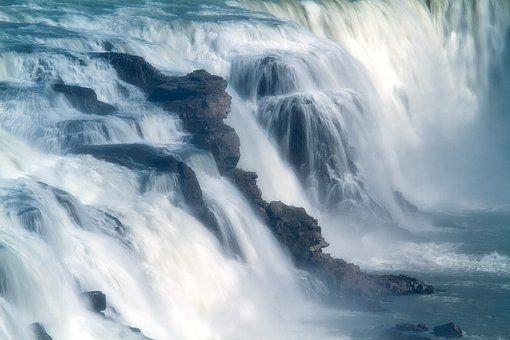 Izland, Vulkánok, Vízesés, Gejzír