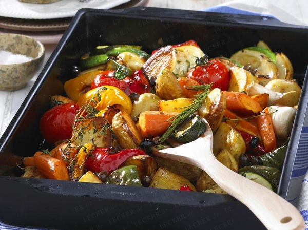Leichte Sommerküche Vegetarisch : Leichte sommergerichte für bewusste genießer food gemüse ofen