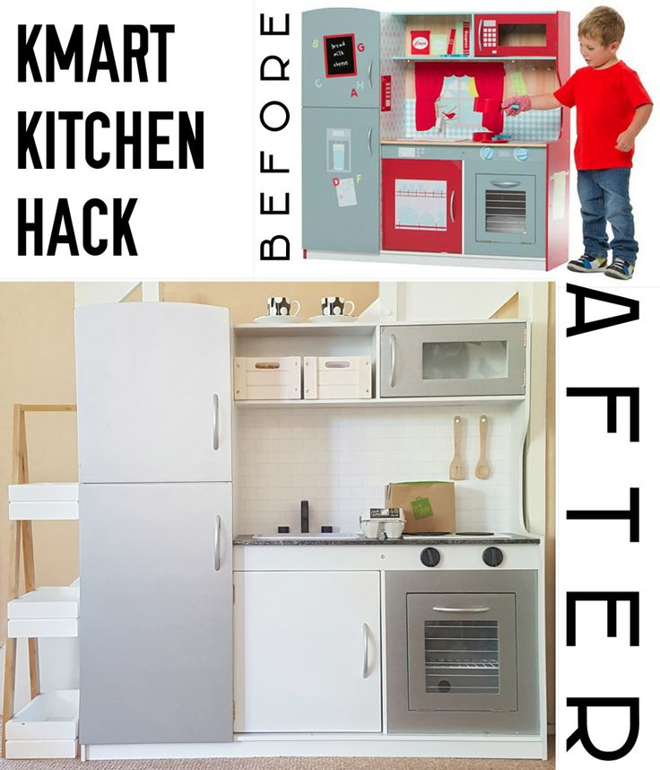My kids LOVE to cook, whether it's pretend play or for realsies. For Mika's second birthday, I thought I would makeover a Kmart Wooden Toy Kitchen for her, that is a mini-version of our…