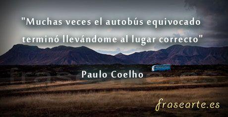 Paulo-Coelho-mi autobus equivocado...
