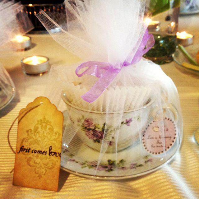 tea cup wedding favor  the best favor i u0026 39 ve received at a