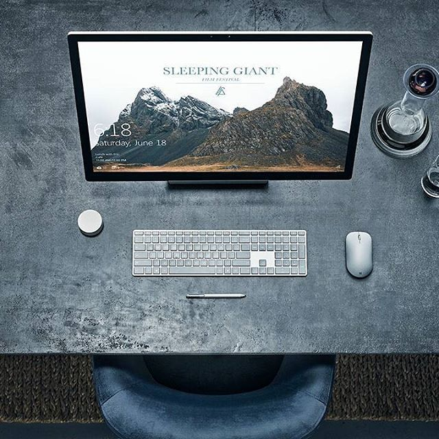 Turn your desk into a Studio with Surface Studio #MicrosoftEvent #SurfaceStudio