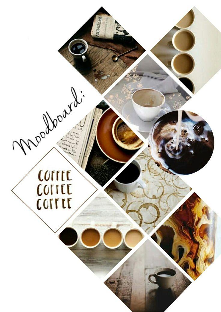 Moodboard project. Coffee
