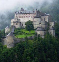 Hohenwerfen Castle (German: Burg Hohenwerfen) stands high above the Austrian…