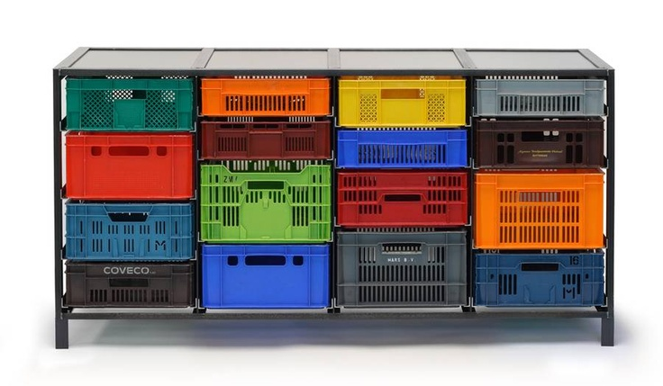 The Crates Cabinet – front view