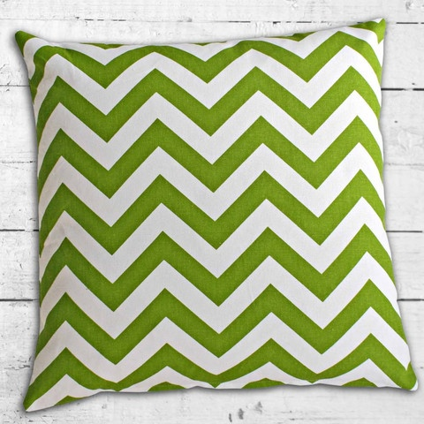 Cushions from Cushionopoly - ZigZag Green