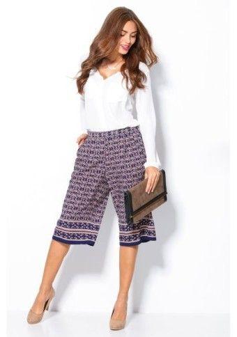 Široké krátké kalhoty #ModinoCZ #modino_style #fashion #cullotes #style #móda #outfit #venca