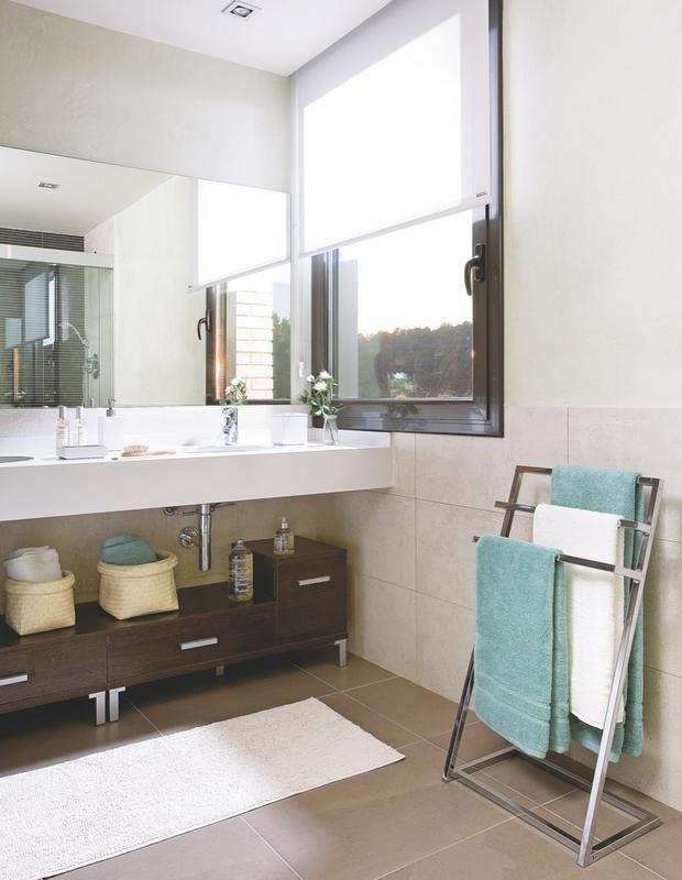Toallero Baño Pequeno:baño toallero metálico súper cool