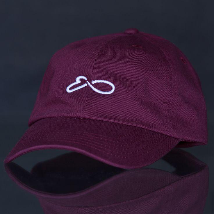 """Eons """"Loop"""" Maroon Adjustable Cap"""