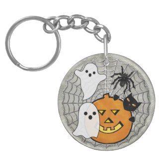 Bump in the Night Halloween Acrylic Keychain