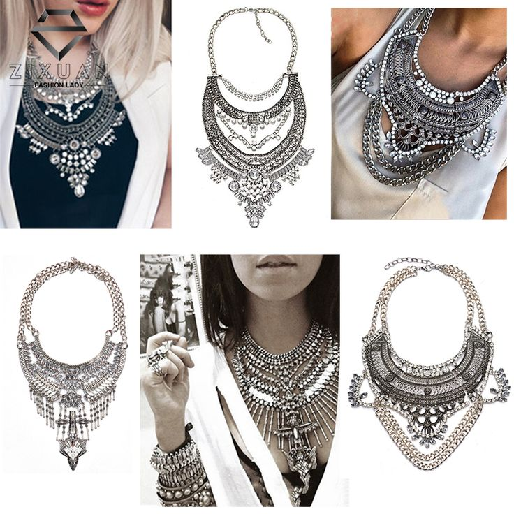 2016 New Fashion Vintage ∞ Boho Crystal Collares statement Necklaces & ᗜ Ljഃ Pendants Choker Maxi Necklaces Women Collier Femme Jewelry2016 New Fashion Vintage Boho Crystal Collares statement Necklaces & Pendants Choker Maxi Necklaces Women Collier Femme Jewelry