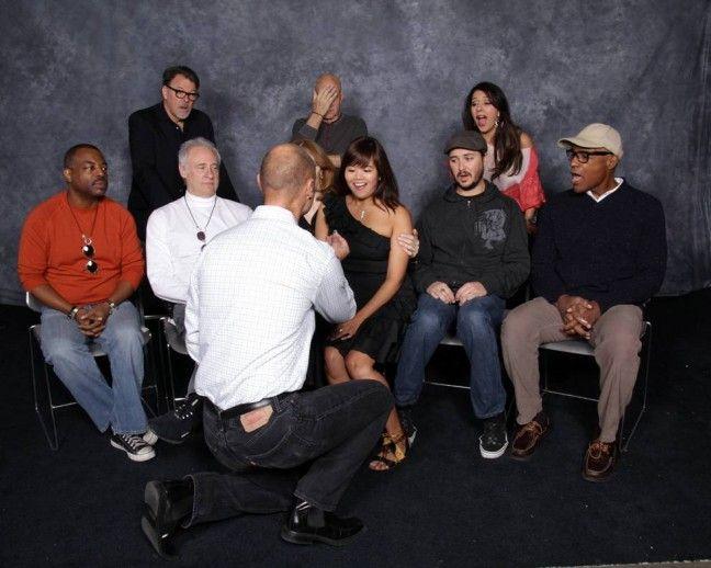 Proposta de Casamento Star Trek