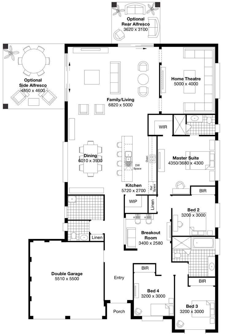 60 best Floor plans images on Pinterest | Plants, Architecture and ...