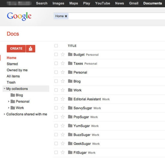 how to organise google drive