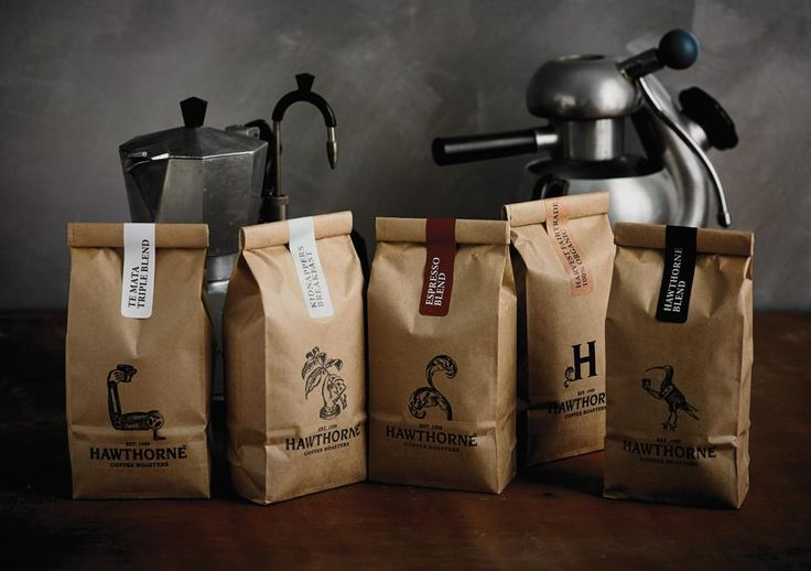 Best Awards - Font Studio. / Hawthorne Coffee Packaging
