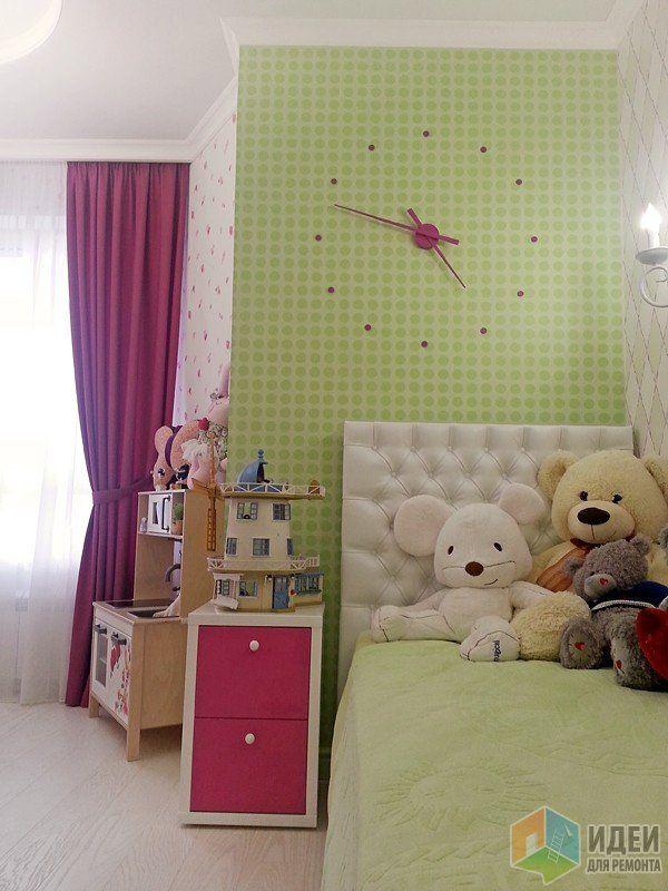 Детская комната для малышки, детская для девочки фото