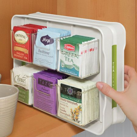 YouCopiau0027s New TeaStand Organizes Tea Bags in Cabinet; Modern Alternative to Tea Box Holds Tea Bags in Wide Space & 25+ unique Tea bag storage ideas on Pinterest | Tea box DIY bags ... Aboutintivar.Com