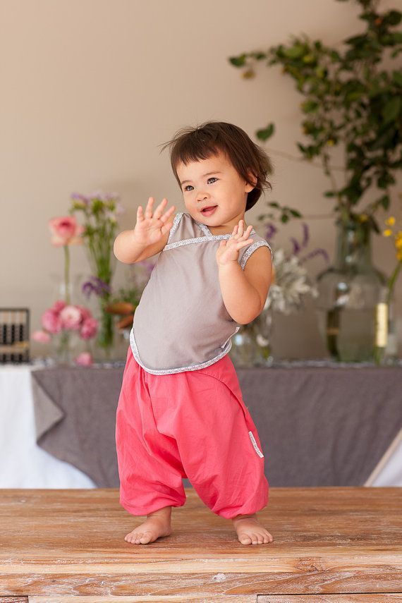100% Cotton Japanese Baby Samurai Pants by cheekybritches on Etsy