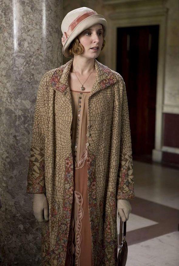 Downton Abbey coat and cloche