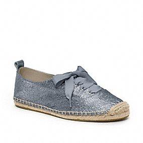 RAMIRA GLITTER ESPADRILLE - cute: Shoes Love3, Design Shoes, Coach Shoes, Coach Ramira, Want Ramira Glitter, Glitter Espadrilles, Shoes Love 3, Beautiful Shoes, Summer Sneakers