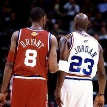 Kobe Bryant vs. Michael Jordan #lakers #greatestofalltime #nba