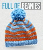Full of Beanies - free patterns from Cleckheaton