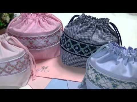 お受験小物 手作りお弁当袋 刺繍ランチマット 入学グッズ 入園手作り 903 - YouTube